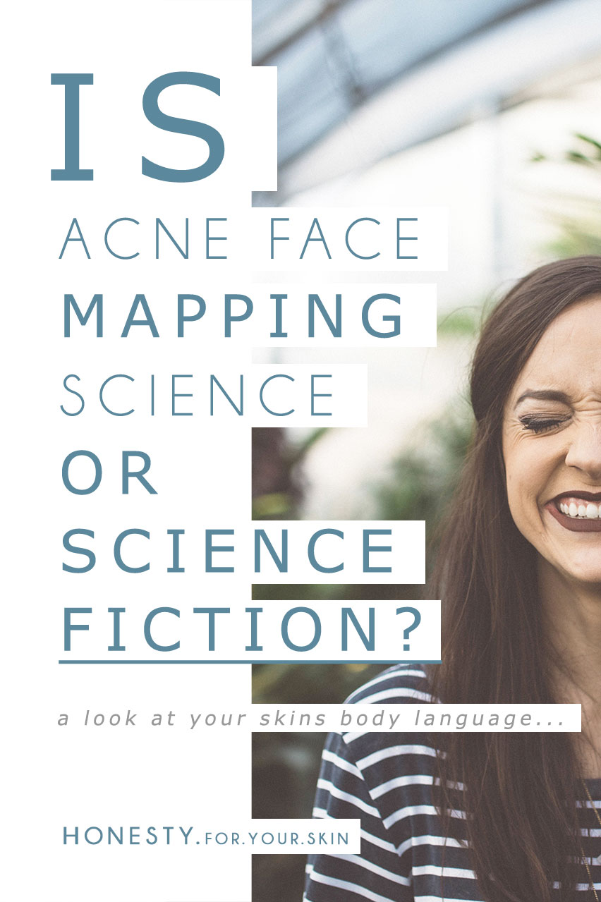 Acne face mapping, does it work? Have you heard of it? Can your face really be the road-map to your inner health? Is their any science to back it? Come take a ride with me *winks* and while I hand you a mocha chociato for our 5 minutes road trip down acne face mapping lane, let's put some A's to our face mapping Q's. http://wp.me/p6LuQS-No