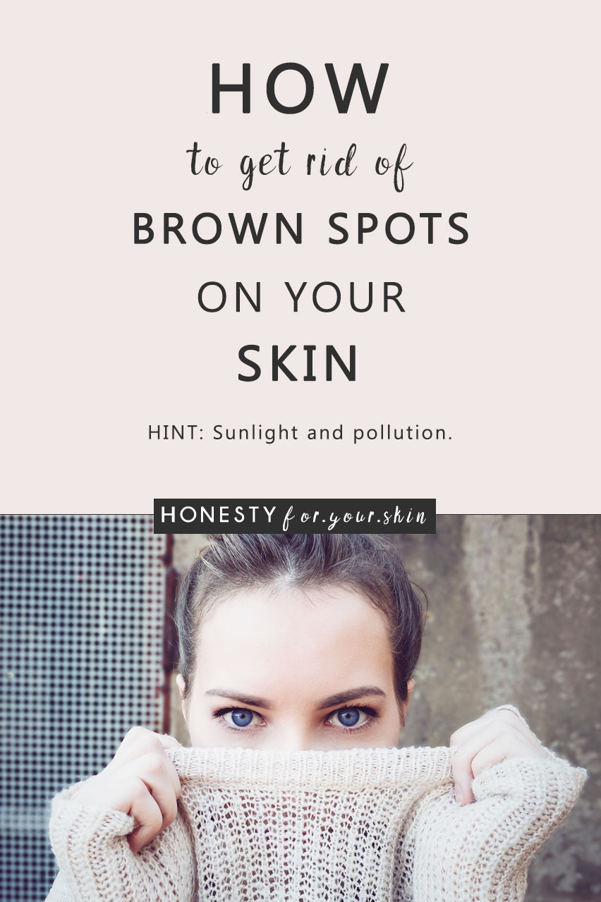 Brown spots on skin can make your skin tone look like the speckled outside of a quails egg. They look like a tan. But they're not. They look like moles. But they're not. They look like they won't ever go away. But they can. If you know... first, what can cause brown spots on skin... and second how you get rid of brown spots on skin. First we will get you prevention, then we will get you resolution. (Amen, sister)