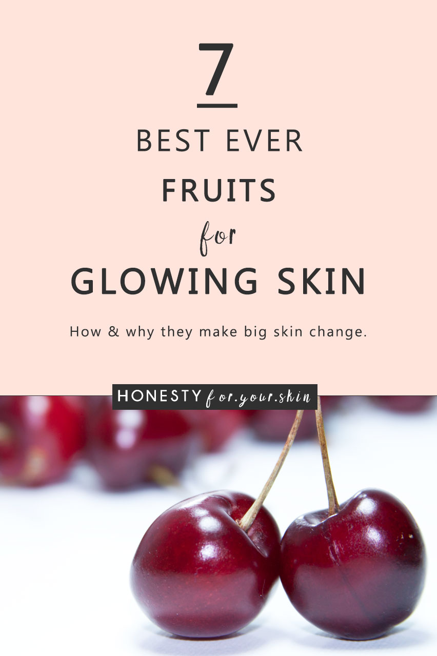 Come take a best fruits for glowing skin chat with me. Your going to learn the principles of what makes some fruits great for skin and your going to forever more have a go-to list of 7 best ever fruits for glowing skin. Go you.
