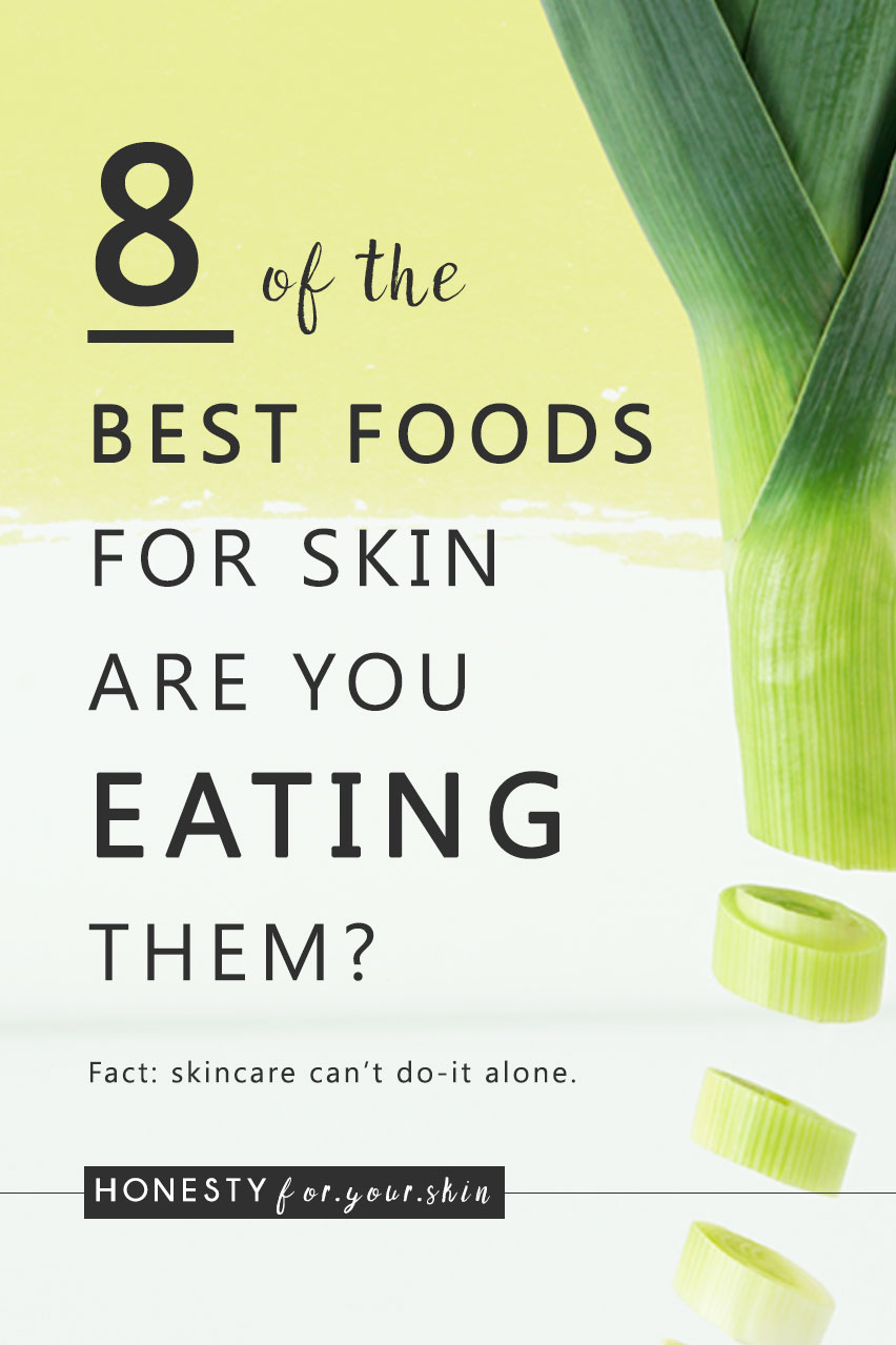 Feed your skin cells the right stuff. The yummy stuff and your skin could be making pregnancy glow without being pregnant. Awesome sauce. Fancy a peek at 8 of the best foods for skin? Grab a cuppa my friend, let's get to this...