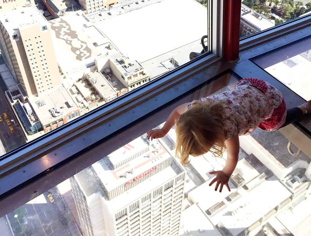 Calgary Tower family weekend in Calgary, Alberta