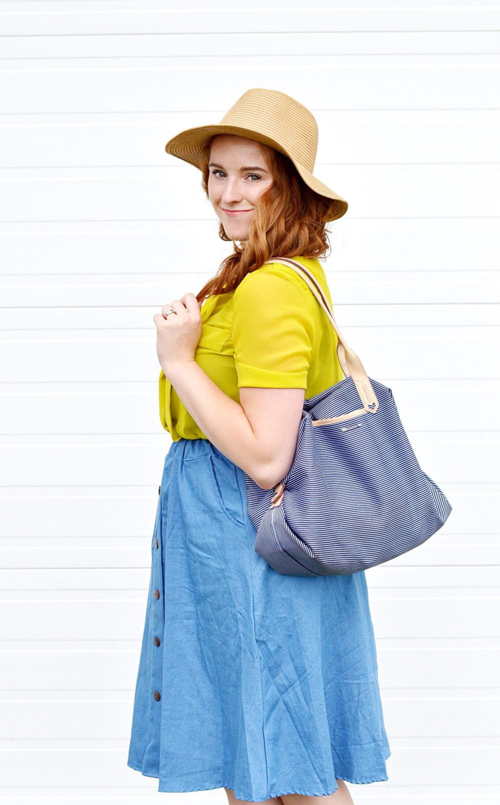 Denim Skirt Style, How To Dress After You Have A Baby