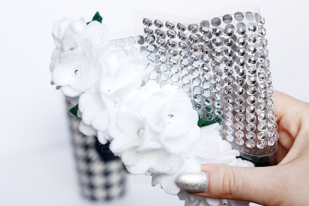 Flower Girl Sparkle Headband
