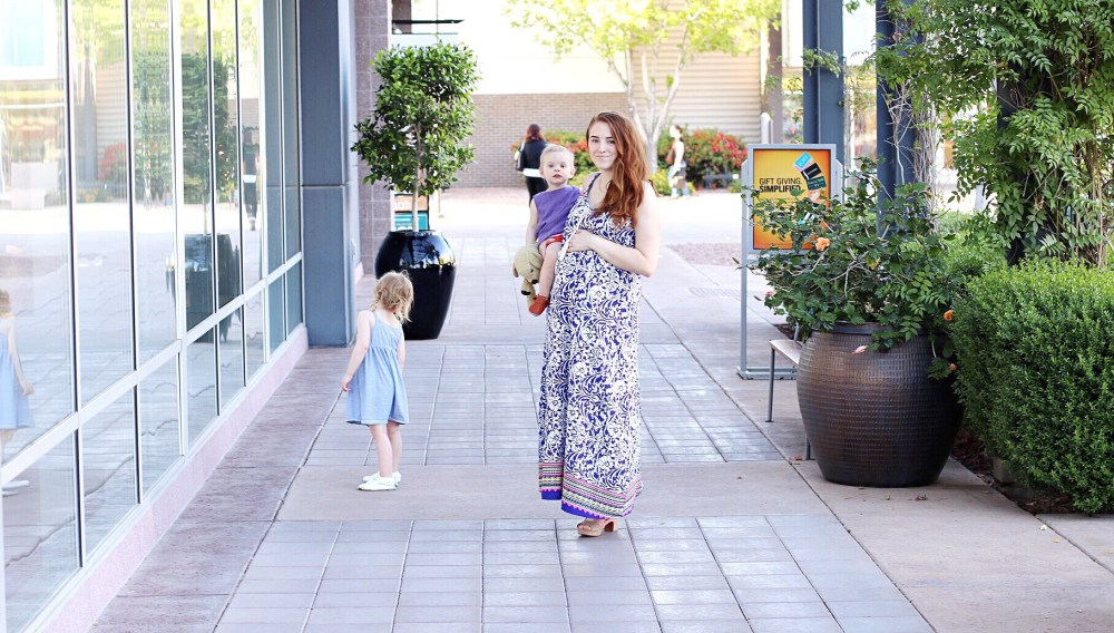 maternity maxi dress summer spring maternity style