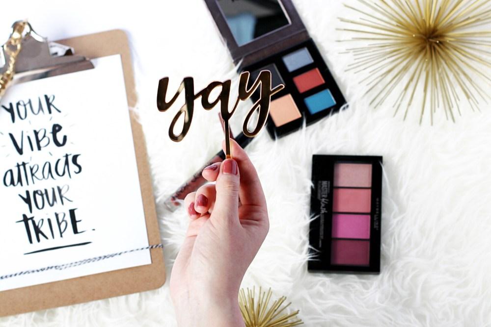 edmonton alberta beauty blogger spring make up for green eyes