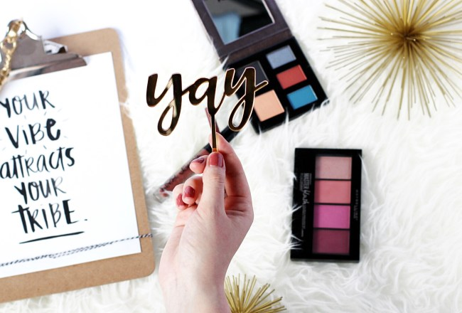 edmonton alberta beauty blogger spring make up for green eyes