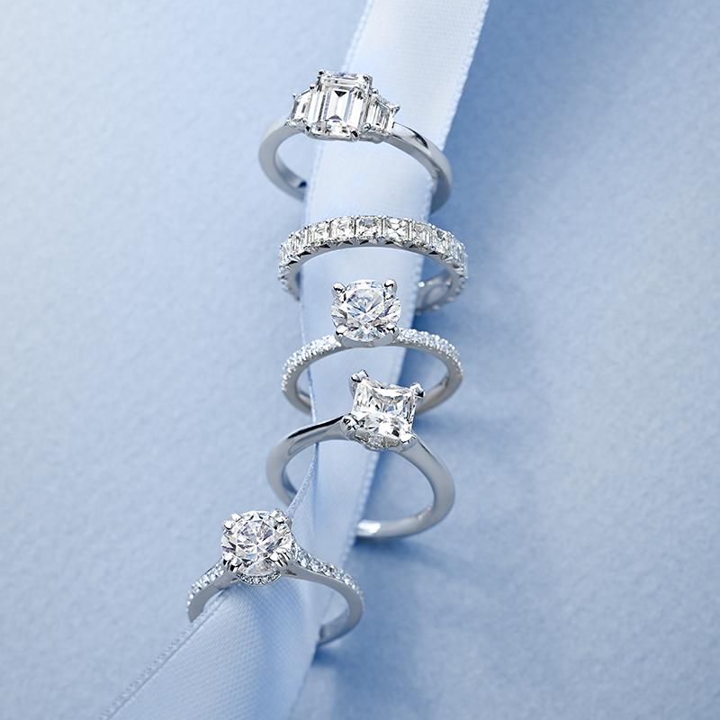 Blue nile diamond education