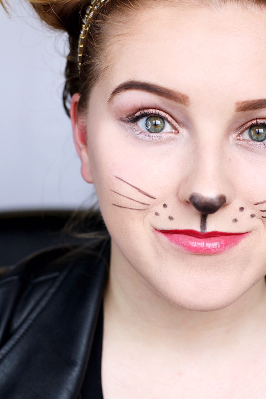 Beauty Make Up: Simple Mouse Halloween Costume