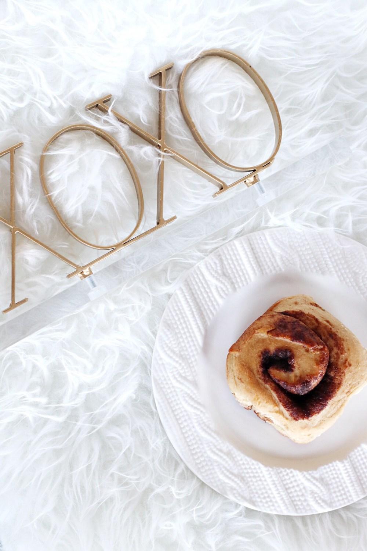 Egg Free Cinnamon Rolls Honey & Betts Hannah Kaup Edmonton Blogger