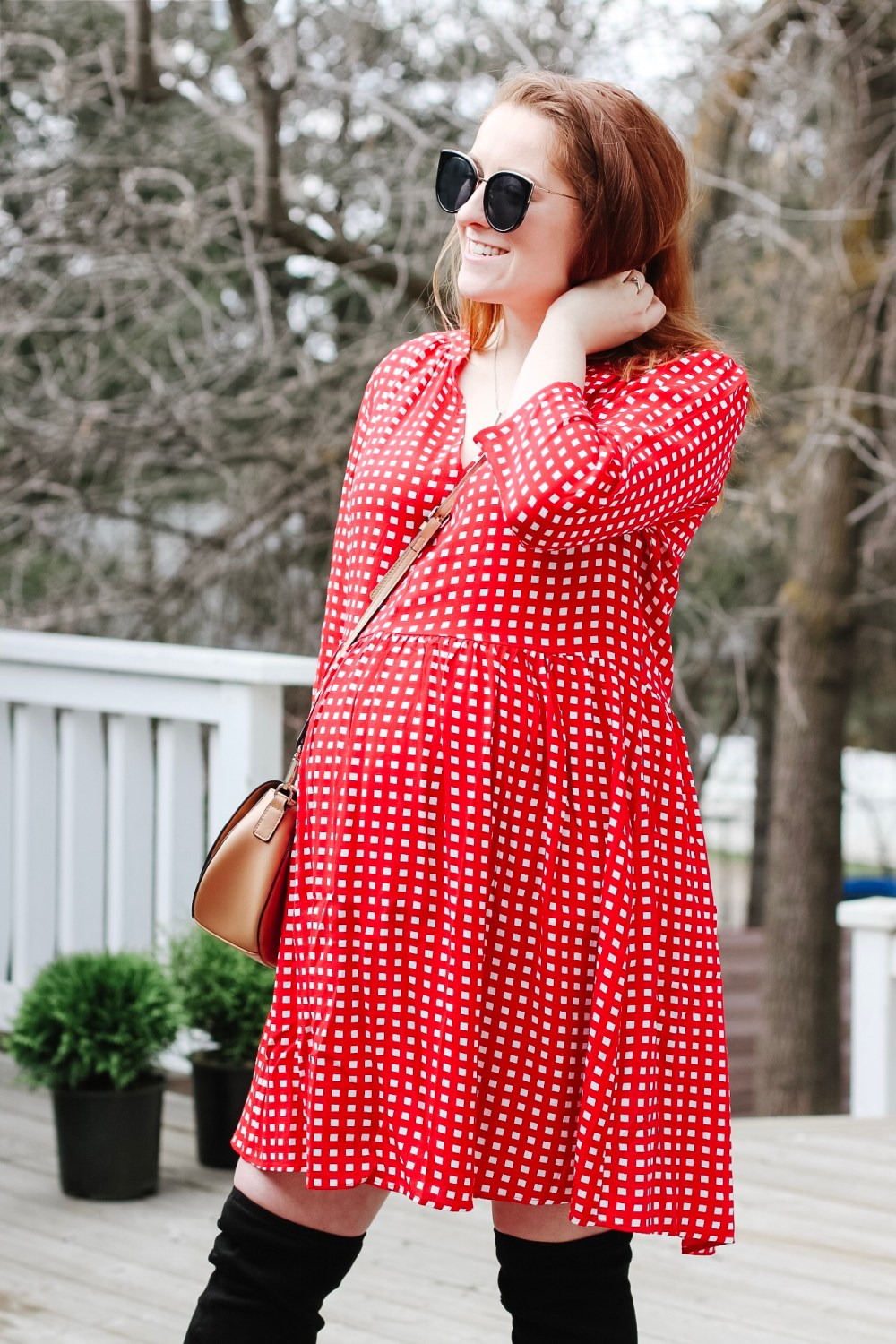 517b21631 ... Looking for pregnancy outfit ideas? Check out Hannah, from the popular  Edmonton blog Honey What to wear ...