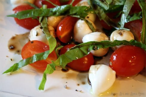 Caprese Green Salad