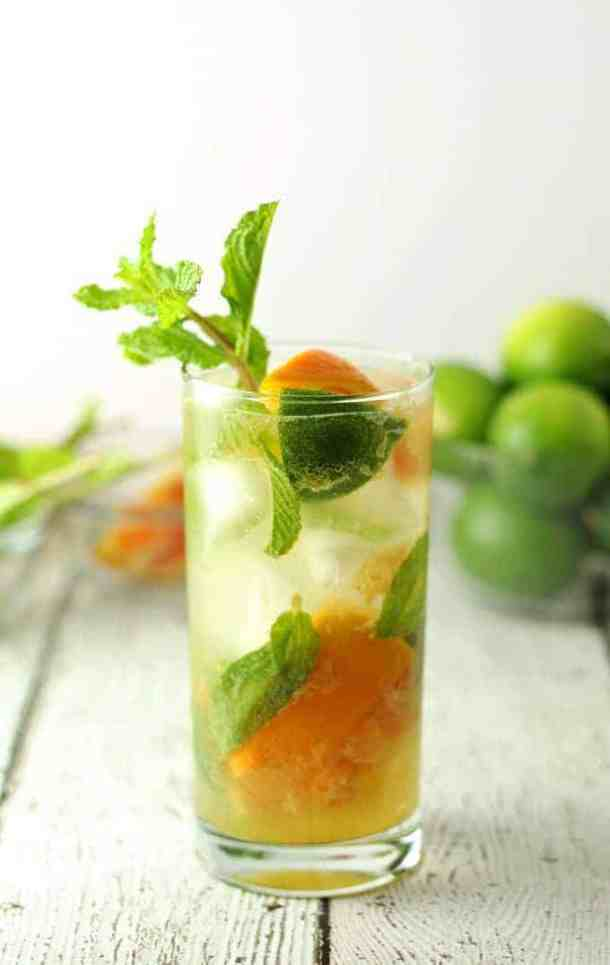 Orange  Mojitos Cocktail