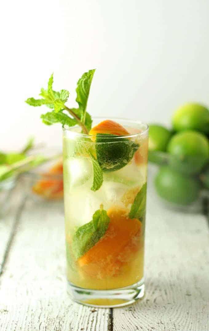 Orange  Mojitos Cocktail