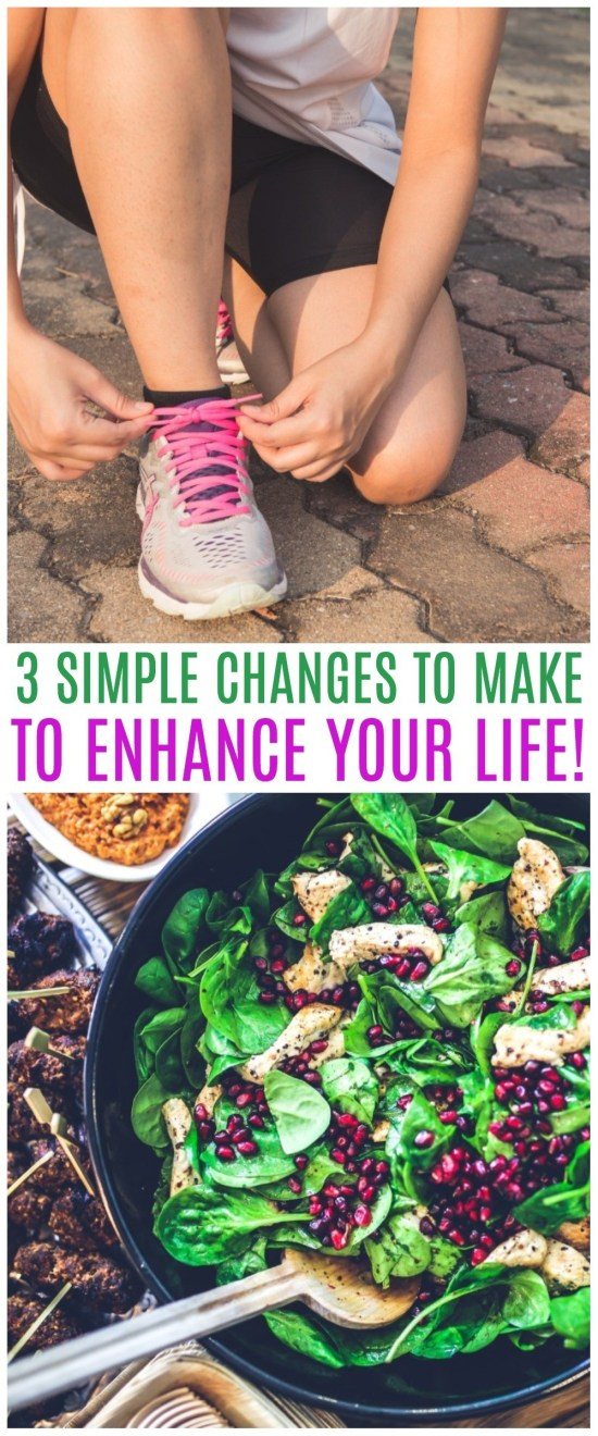 New Year New You - Simple Changes to Make That Will Change Your Life