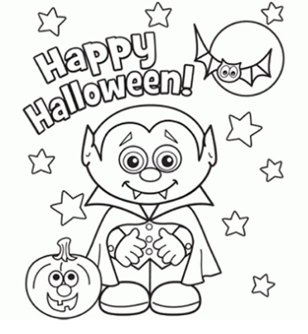 coloring halloween pages # 14