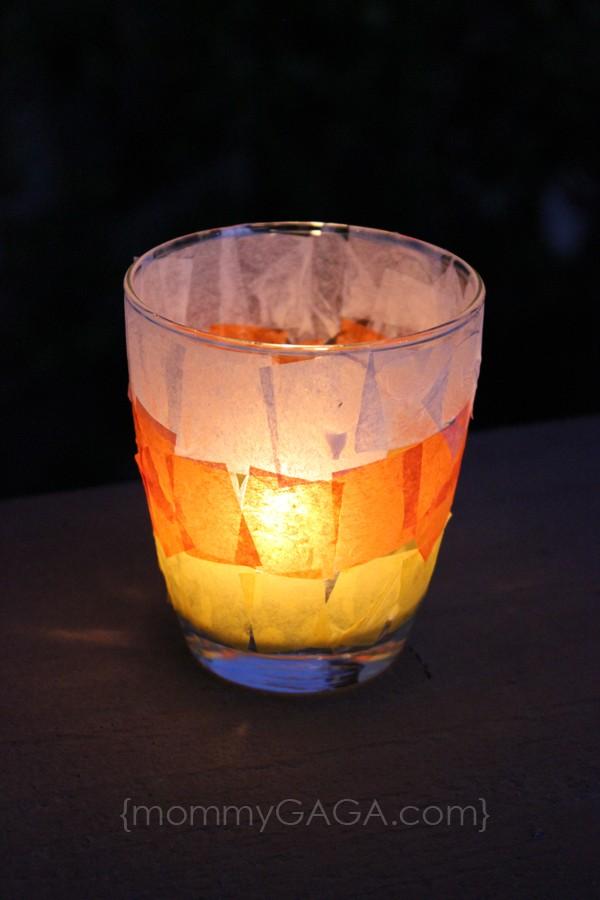 Halloween Candle Craft Decoration