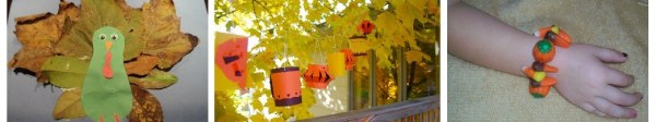 Fall and Thanksgiving Crafts
