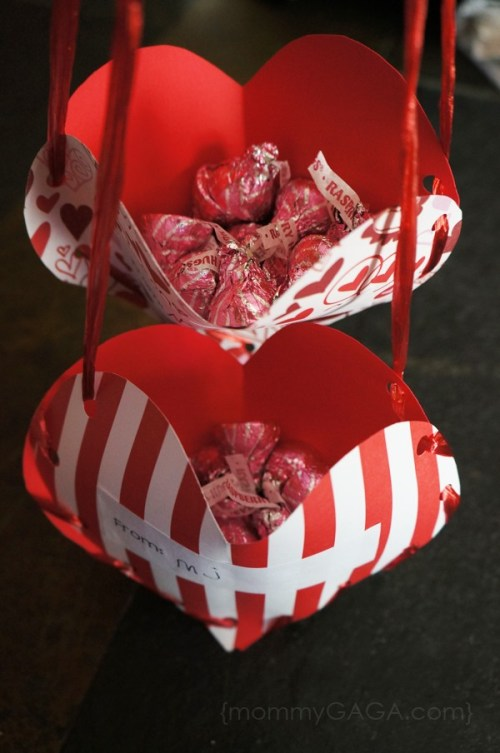 Valentine treat holders to make