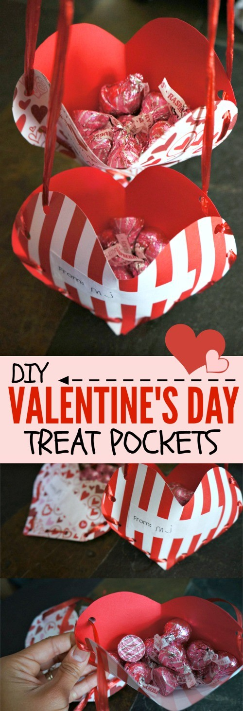 Valentine's Day Treat Pockets: A Fun Homemade Valentines Craft For Kids!