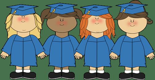 little girls kids graduating cap and gown