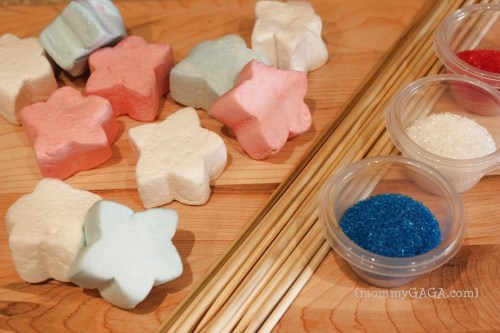 Marshmallow Stars Fourth of July Party Snacks