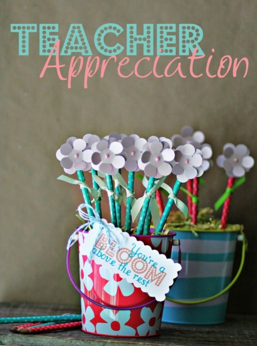 Teacher Appreciation Gift Pencil Bouquet