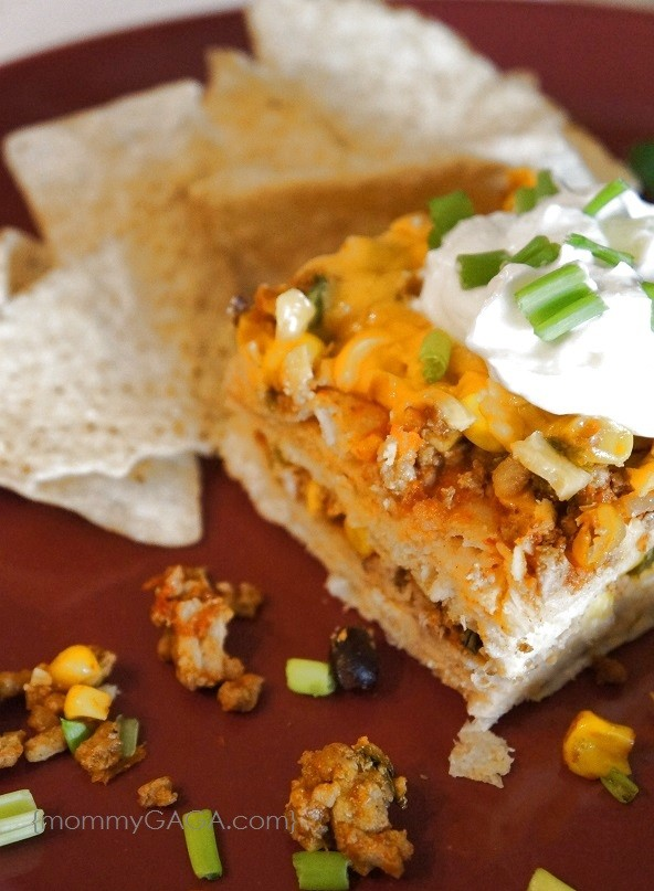 Turkey and Black Bean Enchilada Casserole Recipe
