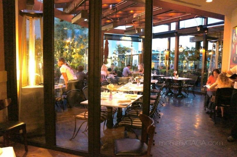 outdoor dining patio, mia francesca