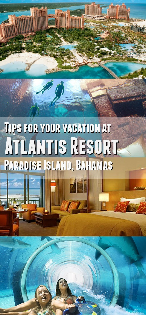 Atlantis Bahamas Tips for Families - Plan your family vacation in the Caribbean at ATLANTIS! These Atlantis Resort in the Bahamas tips are great to know