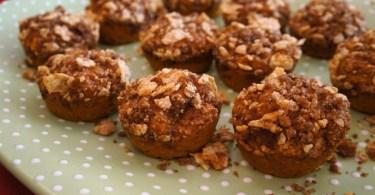 Pumpkin Spice Streusel Topped Muffins Recipe