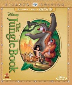 Disney's The Jungle Book Diamond Edition BluRay DVD Movie