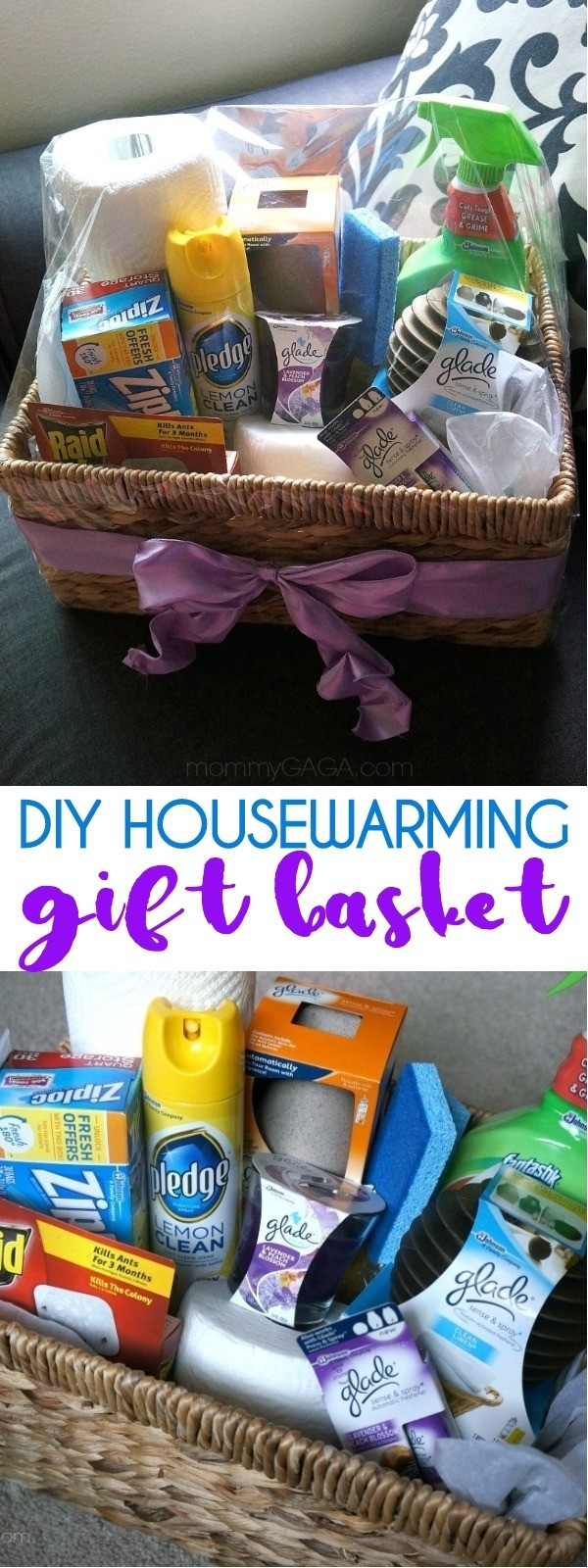 DIY Housewarming Gift Basket - A New Home Essentials Gift