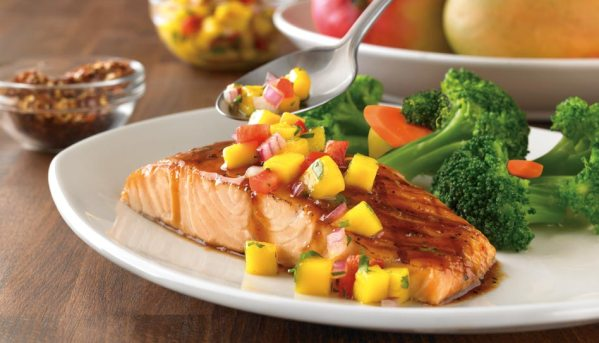Outback fire cracker salmon