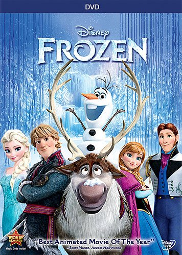 Disney's FROZEN Movie DVD BluRay