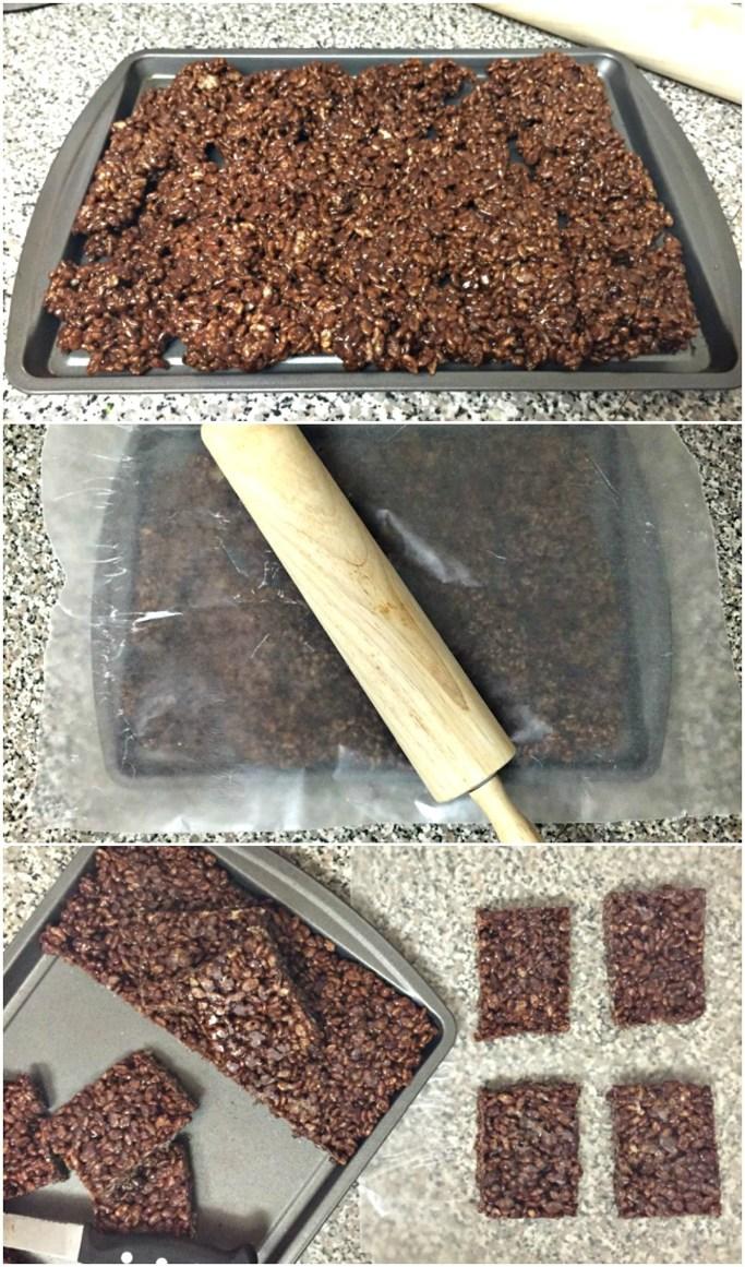 How to make dark chocolate Rice Krispies Treats turkey pops, for Thanksgiving