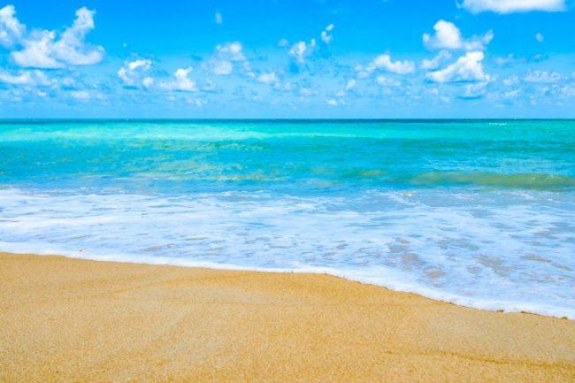Beautiful, sandy beaches in Phuket, Thailand