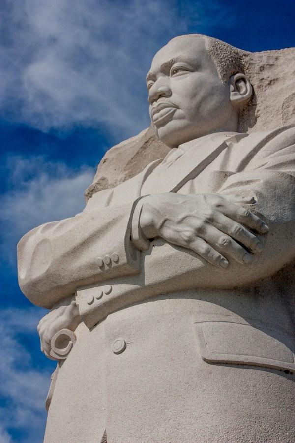Martin Luther King Jr statue, Washington DC