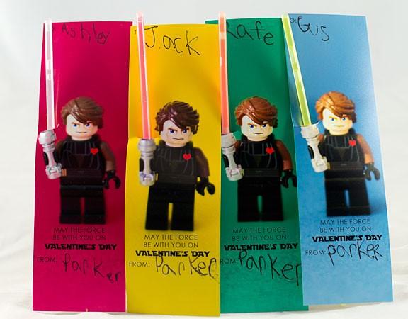 Lego Starwars Light Saber Valentine, Stitch Craft Creations