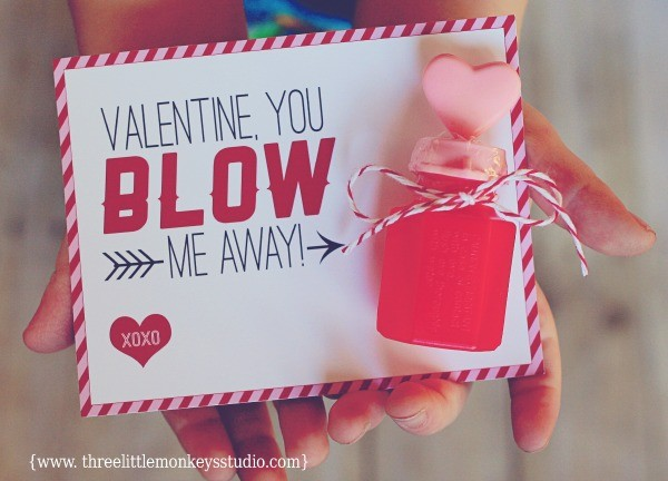 Valentine, You Blow Me Away, Three Little Monkeys Studio