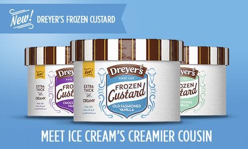 Dreyers Frozen Custard