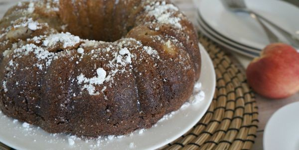 Summer Recipe, Peach Banana Bundt Bread