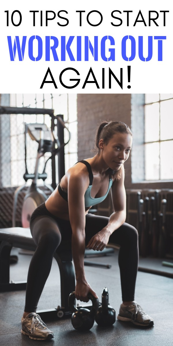 How To Start Working Out Again - 10 Tips from A Real Busy Mom Who's Been There | best way to start working out to lose weight | finding time to work out | how to lose weight working out | how to start working out again | how to start working out at the gym | how to start working out at the gym | honeyandlime.co