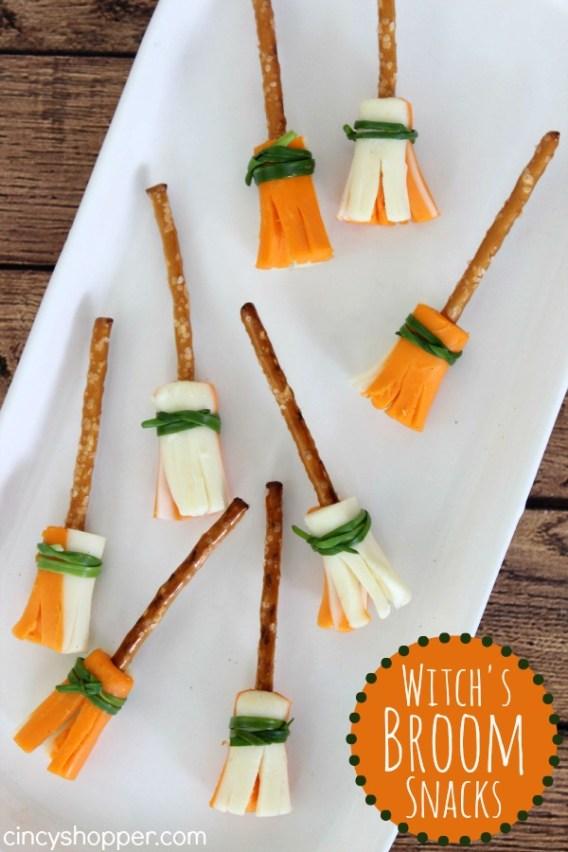 Witches Broom Snacks Halloween Recipe