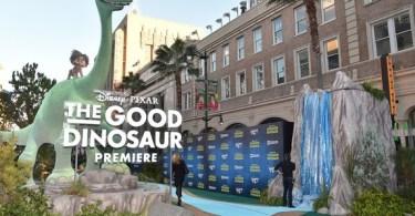 World Premiere Of Disney-Pixar's THE GOOD DINOSAUR At El Capitan Theatre 11-17-15