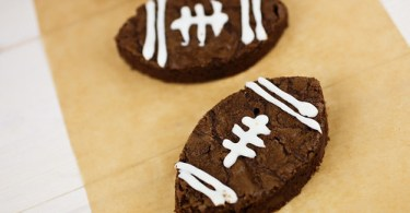 Football brownie bites recipe