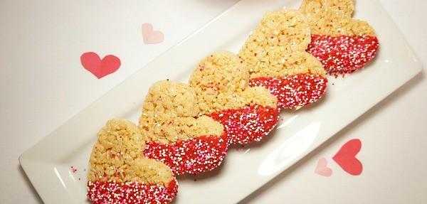 Valentine Rice Krispies treats recipe