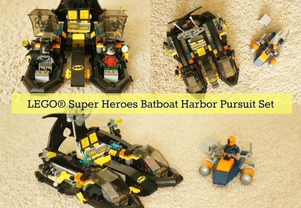 LEGO® Super Heroes Batboat Harbor Pursuit Building Set