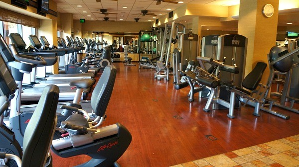 Disney's Animal Kingdom Lodge fitness center