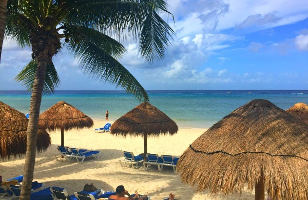 View of the beach at MELIA Vacation Club Cozumel