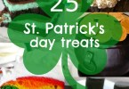 25 St. Patrick's Day treats and sweets to try making at home. Love the rainbow cupcakes and the pot of gold cake!